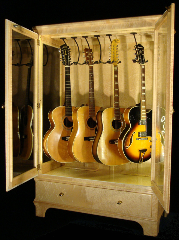 Exceptionnel Access N Sight   Guitar Display Case Cabinets
