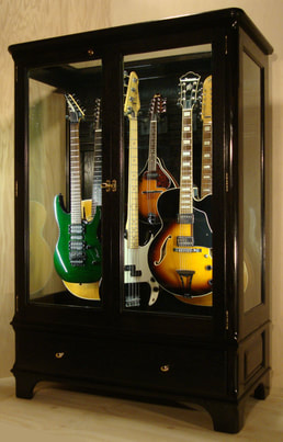 Exceptionnel Access N Sight   Guitar Display Case Cabinets   Home